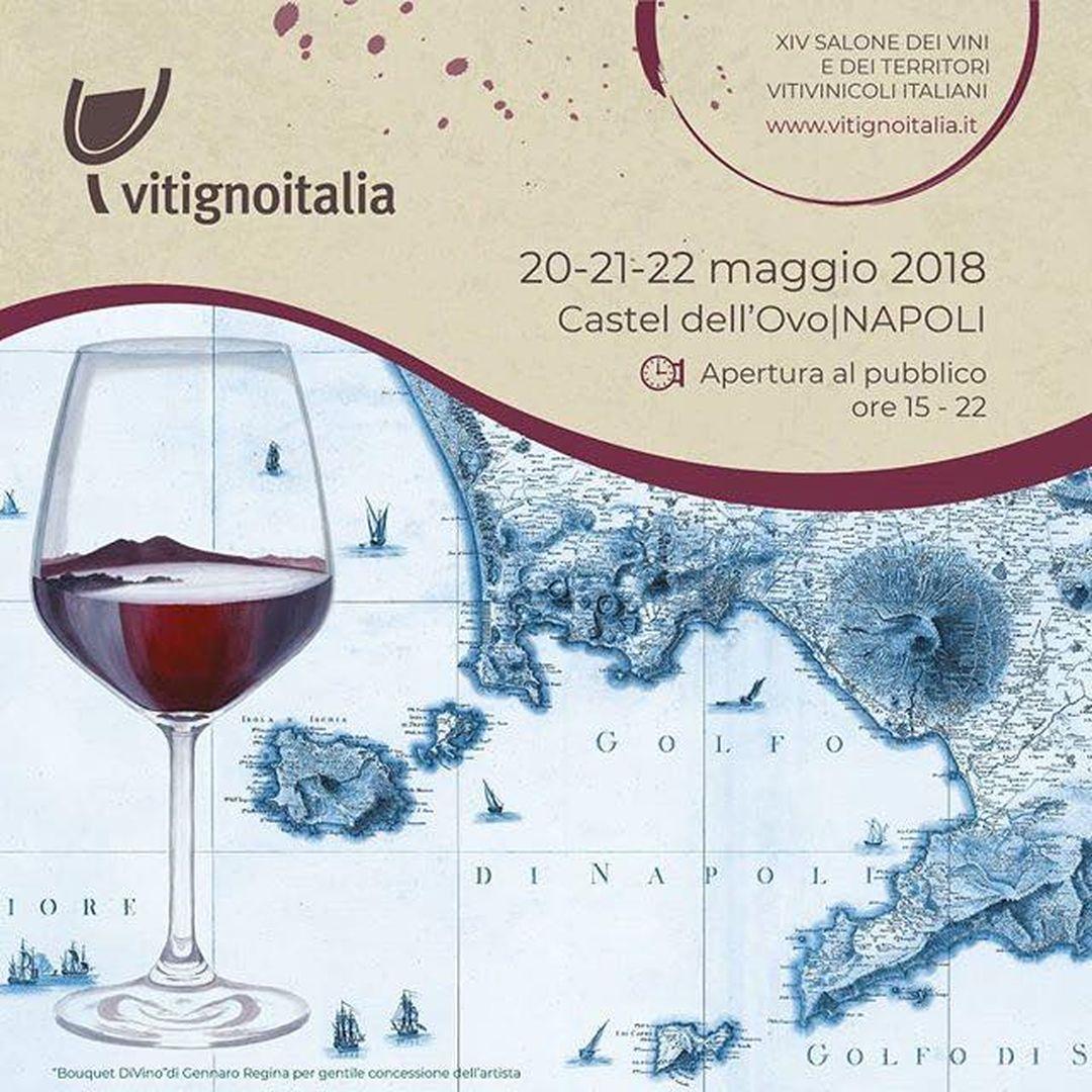 VitignoItalia 2018 XIV° edizione Castel dell'Ovo Napoli 20-21-22 Maggio
