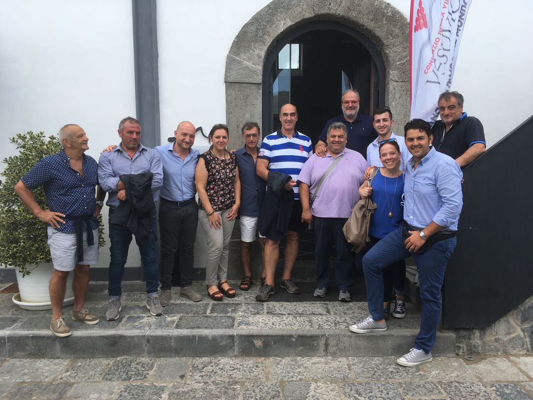 Gourmet's International e The WineHunter | Consorzio Tutela Vini Vesuvio